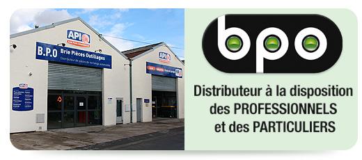 BPO Distributeur de pièces de rachange